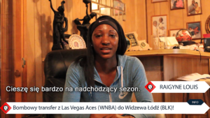 Z WNBA do Widzewa
